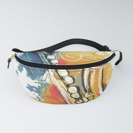 Saxophone Fanny Pack
