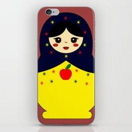 Snow White Nesting Doll iPhone Skin