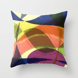 Abstract #465 Throw Pillow