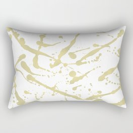 Gold drops Rectangular Pillow