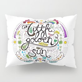 Little Golden Sun Pillow Sham