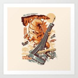 The Kaijussant Art Print