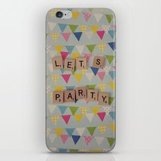 Lets Party iPhone & iPod Skin