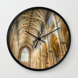 York Minster Cathedral Wall Clock
