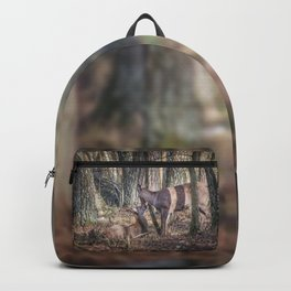 Doe and Fawn Backpack
