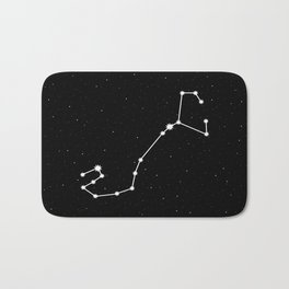 Scorpio Astrology Star Sign Bath Mat