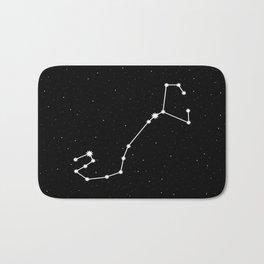 Scorpio Star Sign Night Sky Bath Mat