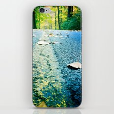 back roads iPhone & iPod Skin