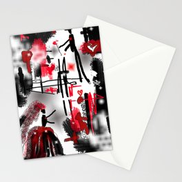 First Kiss Stationery Cards