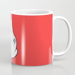 Ok Cartoon Emoji Hands Coffee Mug