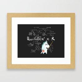 Unicorn = real Framed Art Print