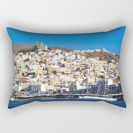 Syros Island Rectangular Pillow