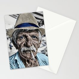 The Old Man and the Sea Portrait Stationery Cards