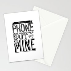 This is mine Stationery Cards