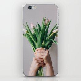 Yay Tulips! iPhone Skin