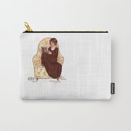 Reading fictional characters: Elizabeth Carry-All Pouch