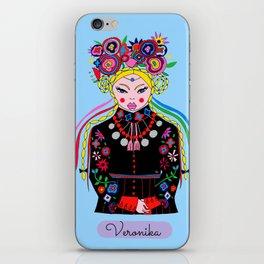 Veronika iPhone Skin