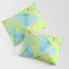 Citrus Blue Pillow Sham