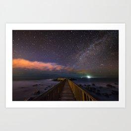 (RR 292) Stars at night Art Print