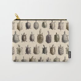 Vintage Turtles Pattern Carry-All Pouch