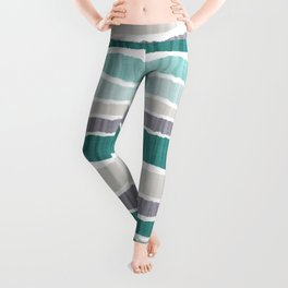 Ice Age Ripped Paper Leggings