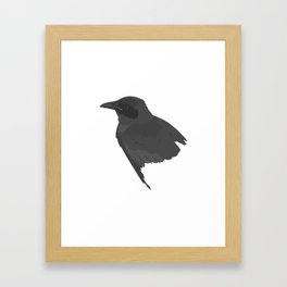 Le corbeau Framed Art Print