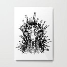 Gorgon Metal Print