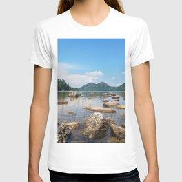 Jordan Pond in Acadia National Park, Maine T-shirt