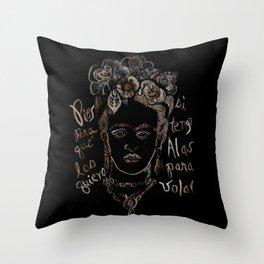 Frida 02 Throw Pillow