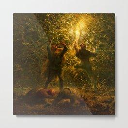 "Jean-François Millet ""The Bird's Nesters"" Metal Print"