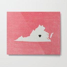 Virginia Love Metal Print