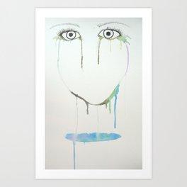 Eye Balls Art Print