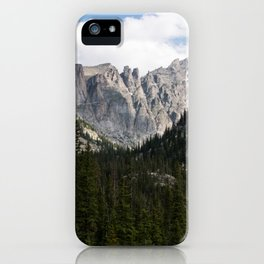 Toward The Highest Mountains iPhone Case