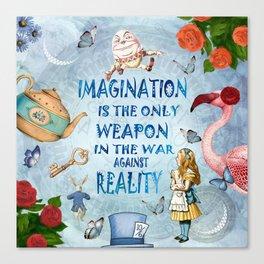 Alice In Wonderland - Imagination Canvas Print