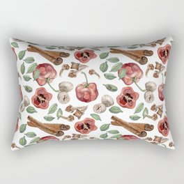 Rocoto Pepper - White Rectangular Pillow