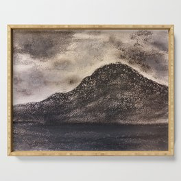 Norwegian Mountain by Gerlinde Serving Tray