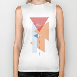 Trust in Shapes Biker Tank
