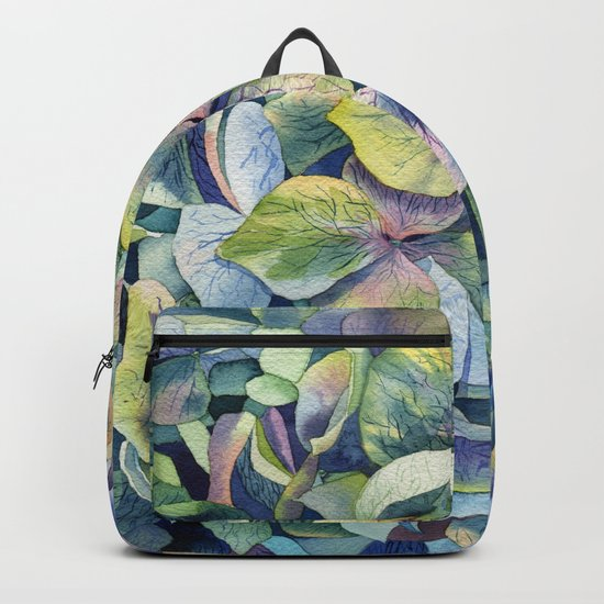 """Forest hydrangea"" Backpack"