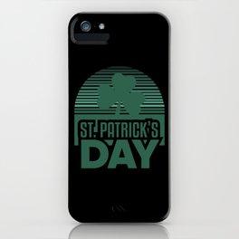 Happy St Patricks Day iPhone Case
