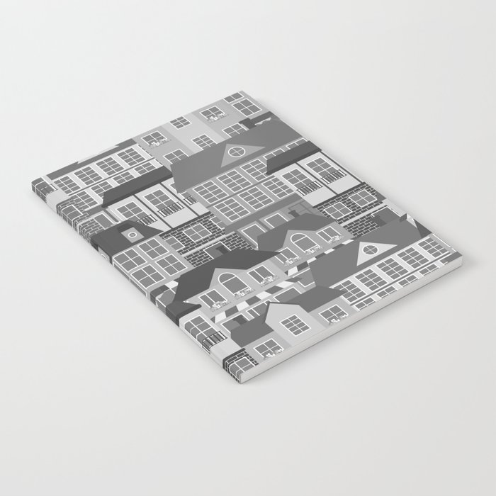 Urban. Black and white Notebook