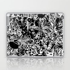 Black/White #1 Laptop & iPad Skin