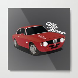 Giulia Sprint GTA Metal Print