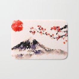 Sakura Fuji Bath Mat