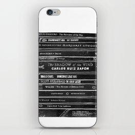 Mono book stack 1 iPhone Skin