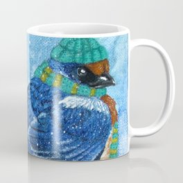 Winter Birds - Swallow Coffee Mug
