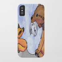 gift card iPhone & iPod Cases featuring Gift by Sparki Wolf