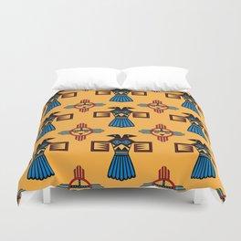 Azteca Art Duvet Cover