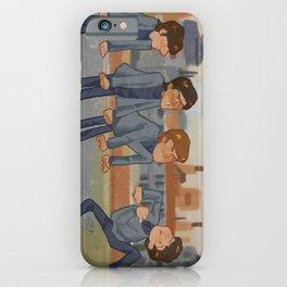 cartoon lads iPhone Case
