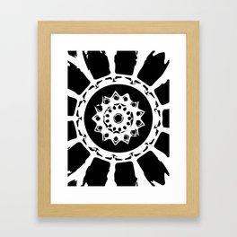 cosmic ball Framed Art Print