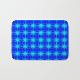 ▲eternal blue stars▲ Bath Mat